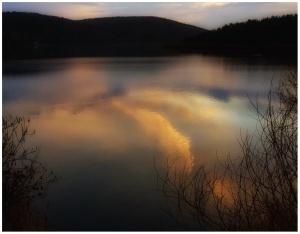 Suyun Rengini Görebilir Misin?... Eymir Gölü/Ankara-Aralık 2018