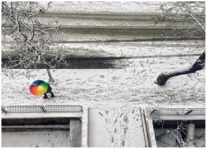 Karlı bir günün ardından...Afsad Balkon/Ankara-Ocak 2019