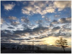Beni anneanneme götüren bulutlar (1)...Konya Ovası/Şubat 2019
