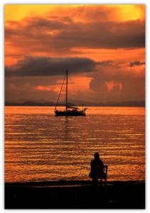 Denizde Bir Kadın... Muğla 2015